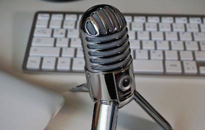 Microphone and computer keyboard