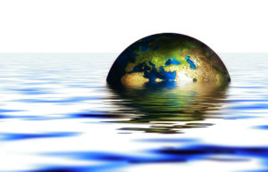 globe floating