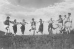 people dancing in Romania